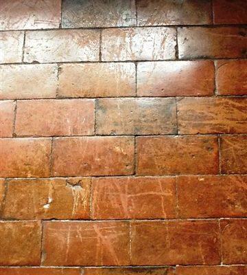 200 yr quarry tile before1