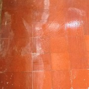 Quarry Tile Meriden Coventry being Cleaned 3