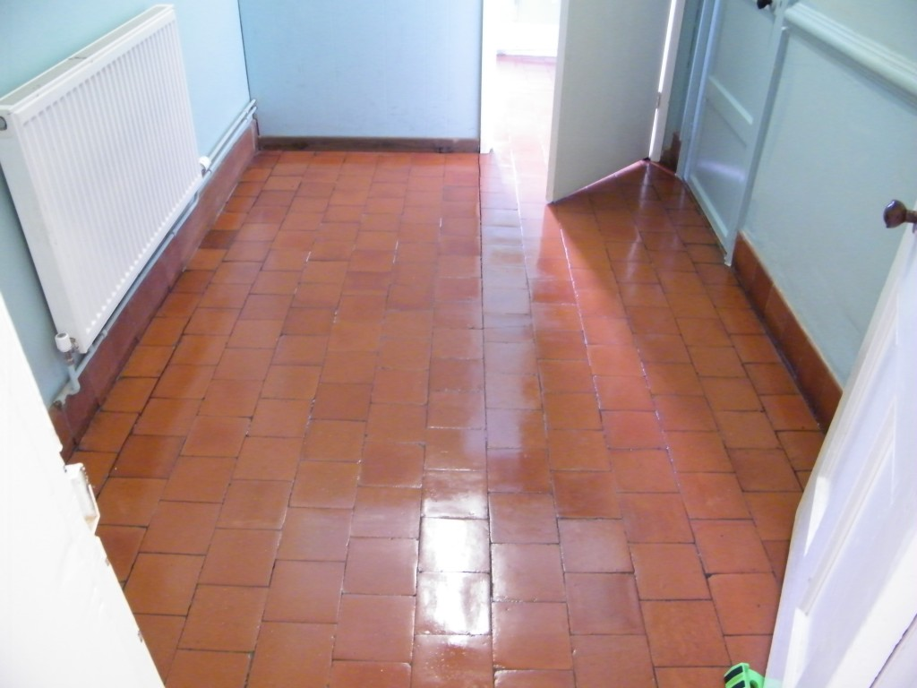 Cleaning Sealing And Polishing Of Quarry Tiled Floors