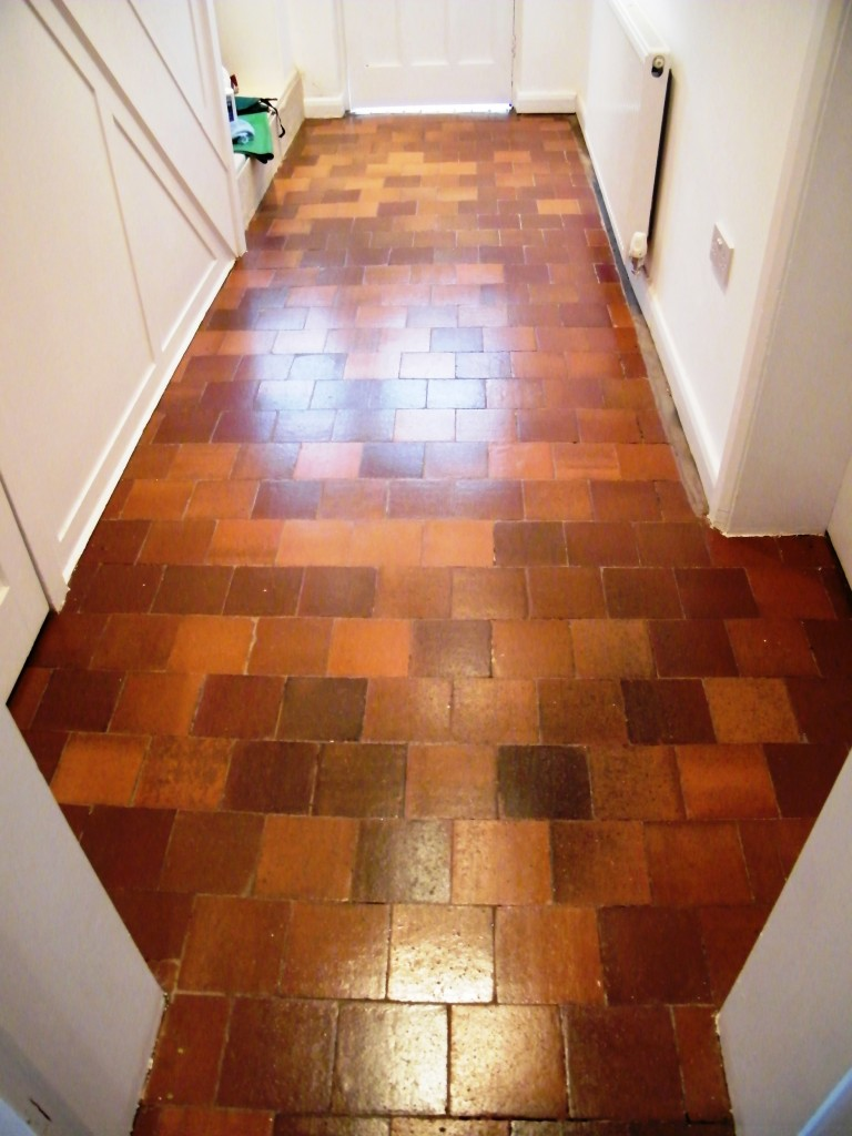 Quarry tiled floor cleaned and sealed in tarvin cheshire tile national coverage dailygadgetfo Choice Image