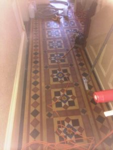 Victorian Floor before cleaned