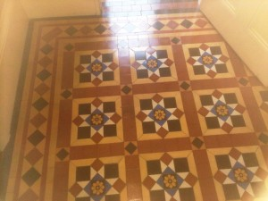 Victorian floor cleaned and sealed
