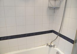 Bathroom tile clean reseal and grout recolour before