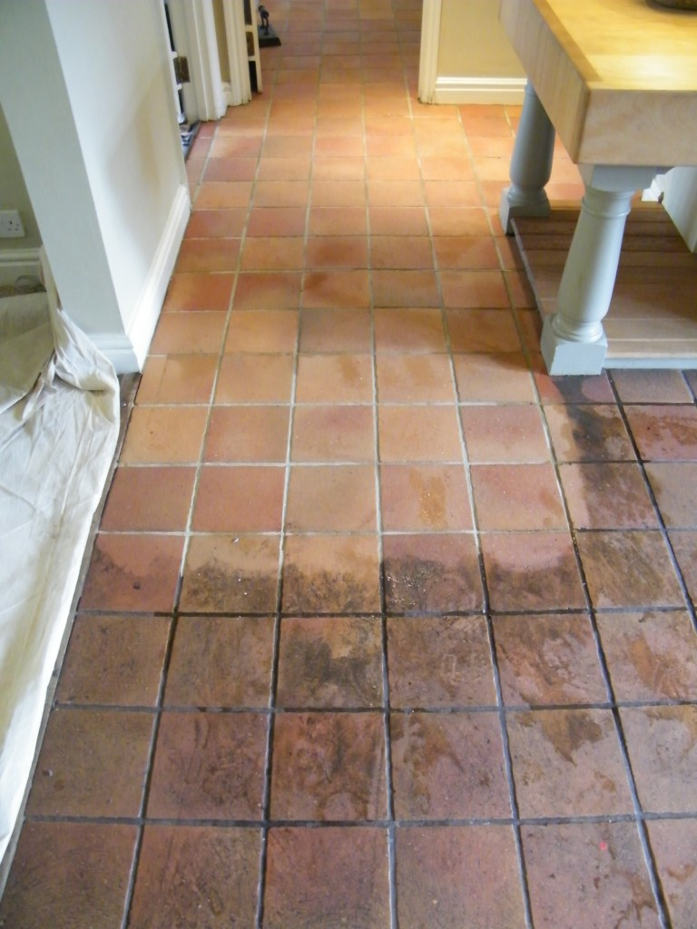 how to clean marble floor at home