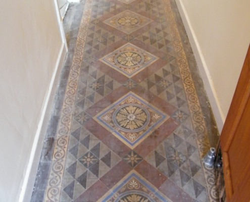 Victorian Tiled Hallway For Miss Gabriel Smith In