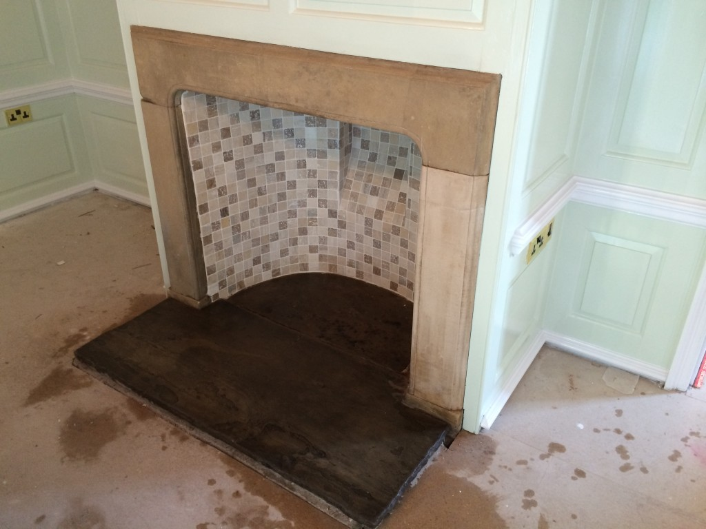 sandstone fireplace pin gosford class project pinterest room