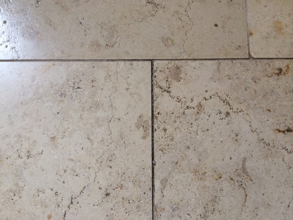 how to clean travertine pavers before sealing