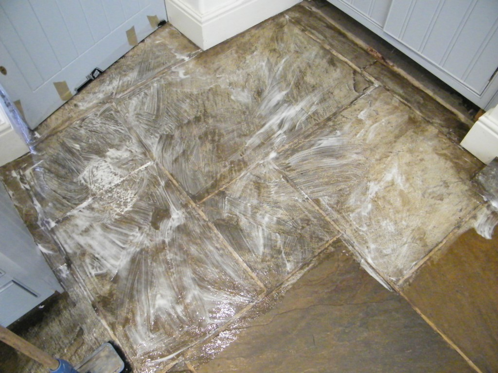 Stripping cleaning and sealing of stone kitchen floor in kerridge national coverage dailygadgetfo Image collections