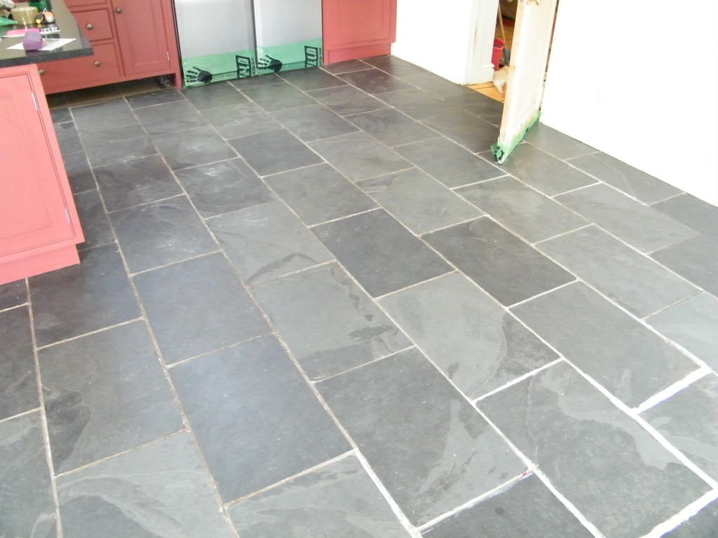Slate tile floor slate floor design photos slate posts stone 100 cleaning slate tile floor restoring the appearance of a dailygadgetfo Image collections