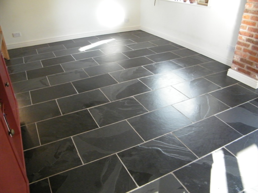 Tile Amp Stone Medic Black Slate Kitchen Floor Stripping