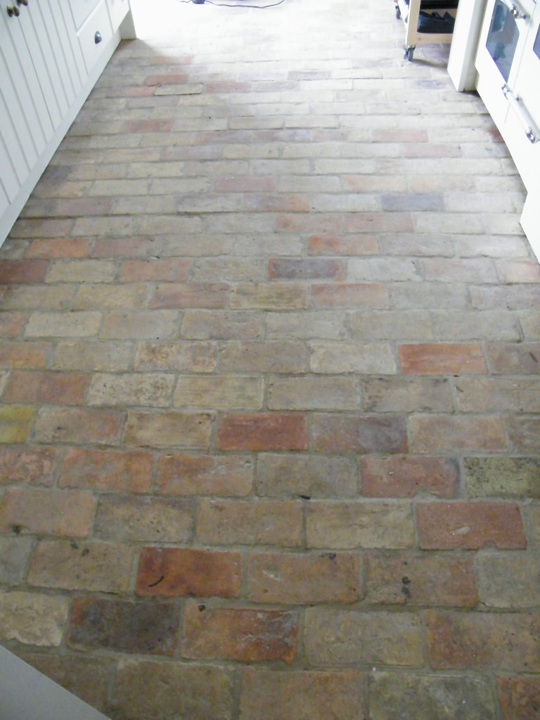 Suffolk Brick Kitchen Floor Stripping Cleaning And Sealing