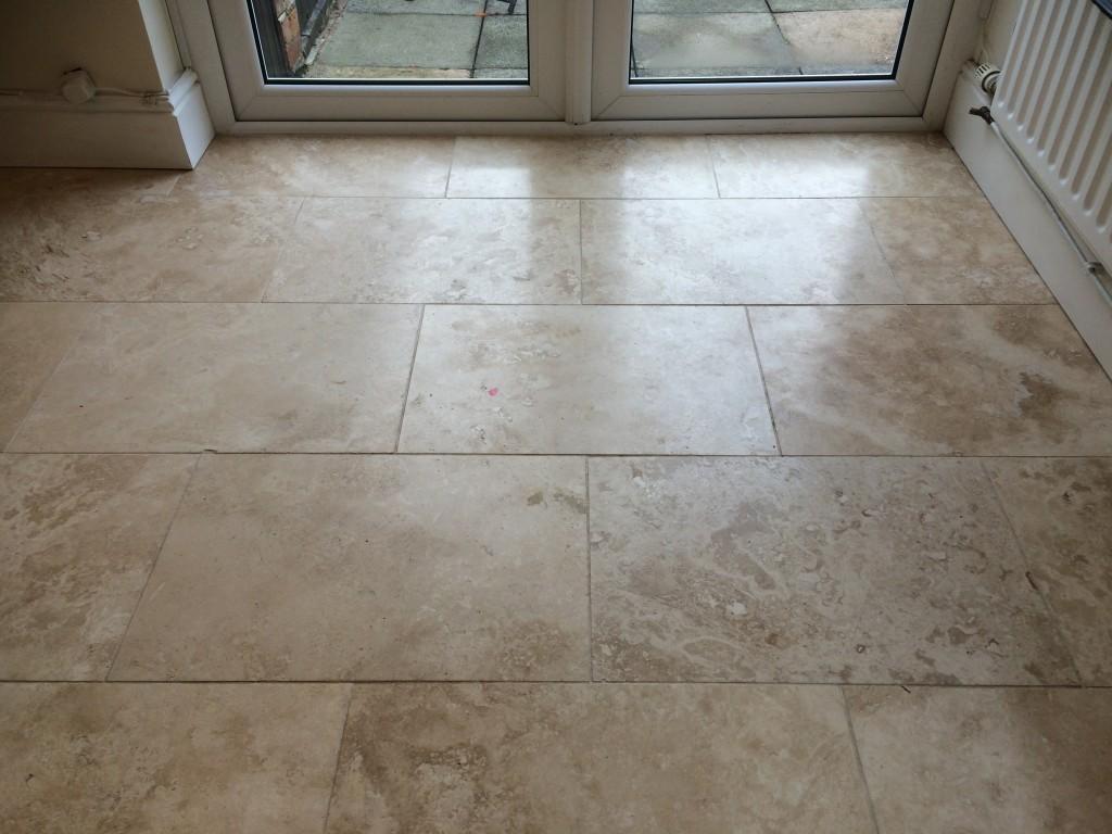 Travertine Tile Floor Cleaning Sealing Polishing Lytham
