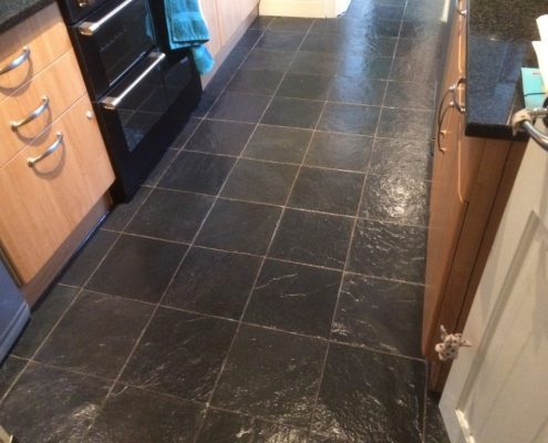 Slate Tile Cleaning