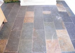 Slate before cleaning