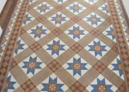 Victorian floor before cleaning and sealing