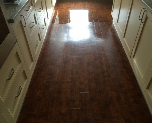 Amtico Before cleaning