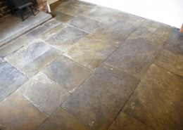 Flagstone after sealing
