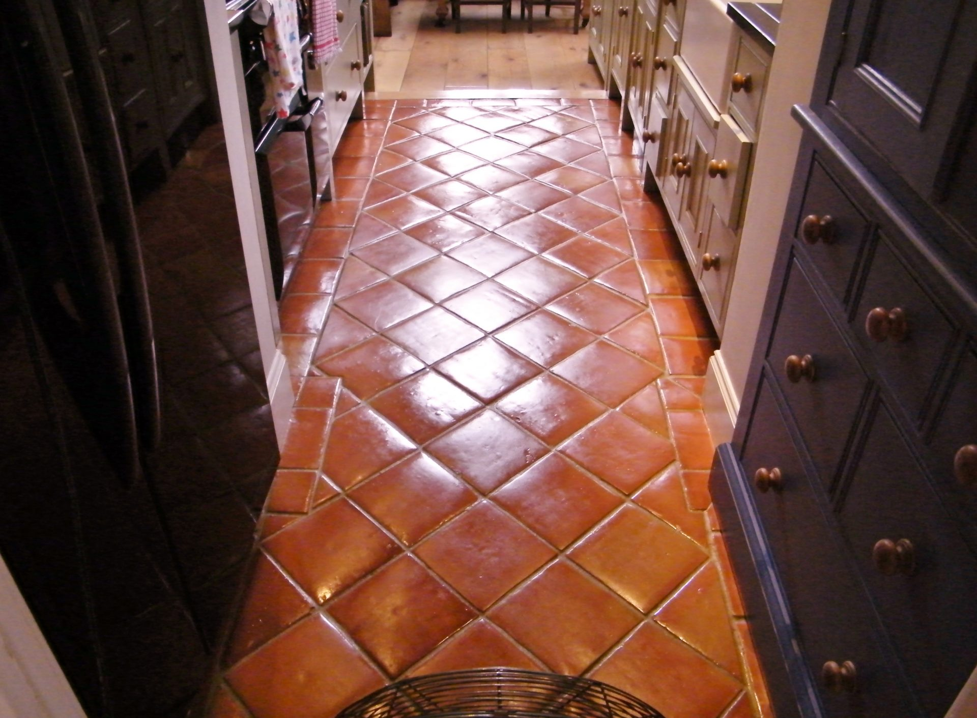 Terracotta Tile Cleaning Services Worcestershire Tile Stone Medic