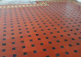 Minton Tile After