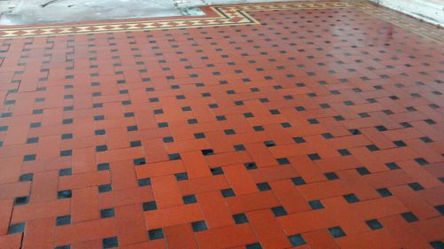 Minton Tile After