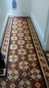After Minton cleaning