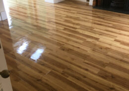 Amtico floor in Little Ness, Neston, Wirral after cleaning and dressing