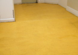 Commercial Vinyl floor in Ashbourne Derbyshire after cleaning