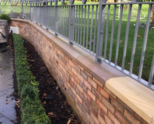 Deep clean and seal of Brick walls and Stone Covings in Alderley Edge, Cheshire after