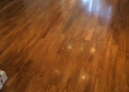 Karndean floor cleaning in Great Haywood, Staffordshire after cleaning, stripping and dressing
