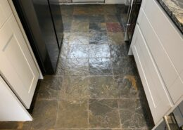 Slate Floor Cleaning, Stripping, Sealing and Polishing in Brierley Hill, West Midlands after