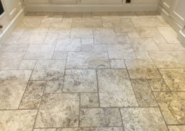 Travertine floor cleaning in Standon, Staffordshire